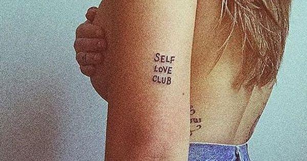 Lovely photo by @runaroundsuee of her Self Love Club tattoo ...