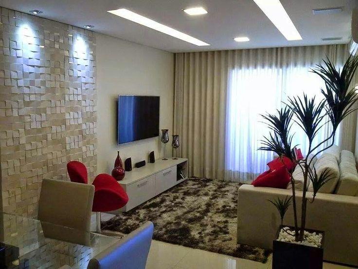 Ideia iluminação sala tv