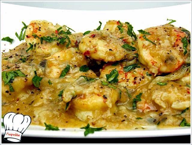 ΓΑΡΙΔΕΣ ΜΟΥΣΤΑΡΔΟΣΚΟΡΔΑΤΕΣ ΝΗΣΤΙΣΙΜΕΣ!!! | Νόστιμες Συνταγές της Γωγώς