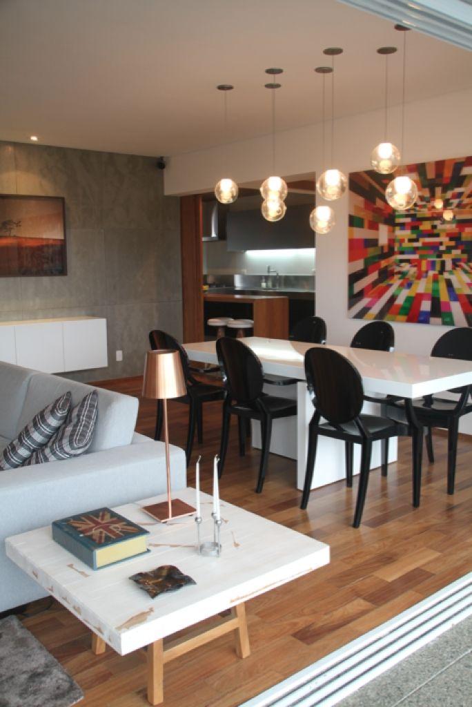 Sala de jantar - Marcel Steiner- Sobre iluminação decorativa