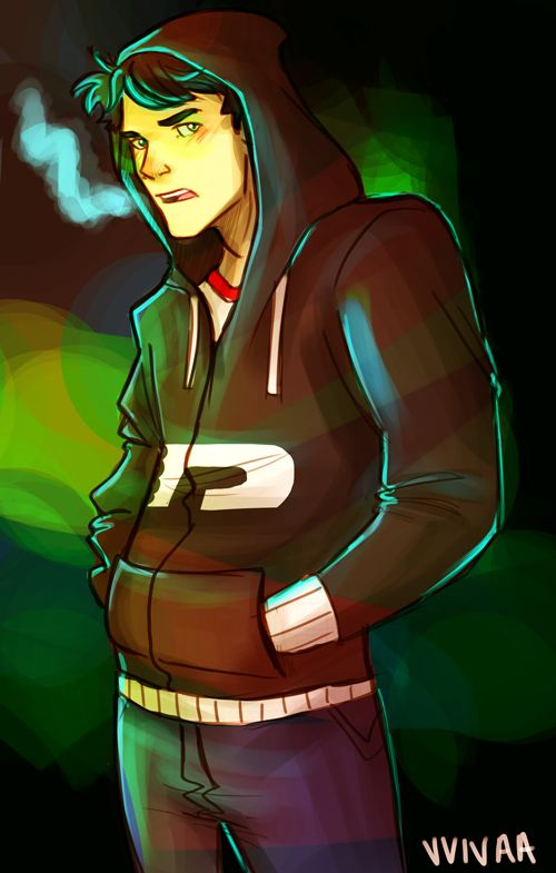 I'm feeling all this Danny in hoodies art.
