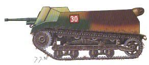 Polish self-propelled guns 1930-39