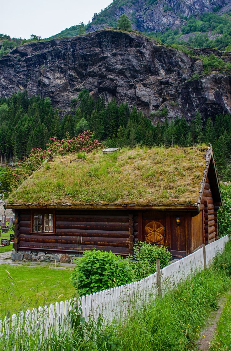 Log Cabin - Flam Norway.
