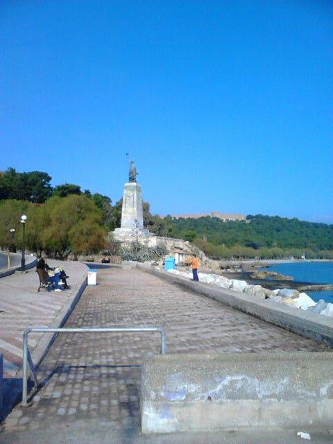 Statue of liberty Mitilini