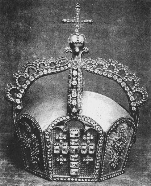 The German State Crown. It disappeared during WWII from  the Hohenzollern museum at Schloss Monbijou in Berlin and has never been seen again.