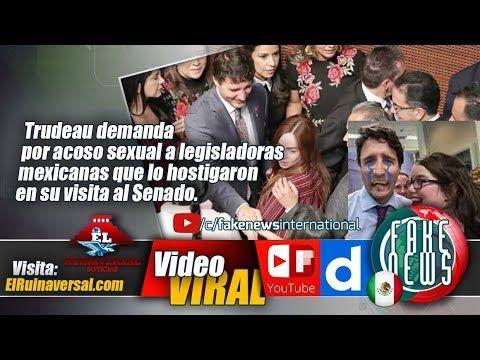 Trudeau demanda por acoso sexual a legisladoras mexicanas que lo hostiga...