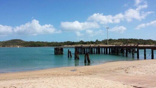 Seisa wharf - Cape York, Australia.