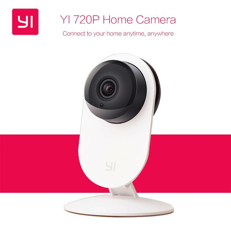 (59.99$)  Buy here  - [International Edition] Xiaomi YI Smart Camera Xiaoyi ants 720P HD Home Camera WiFi Wireless IP Camaras CCTV Webcam Night Vision