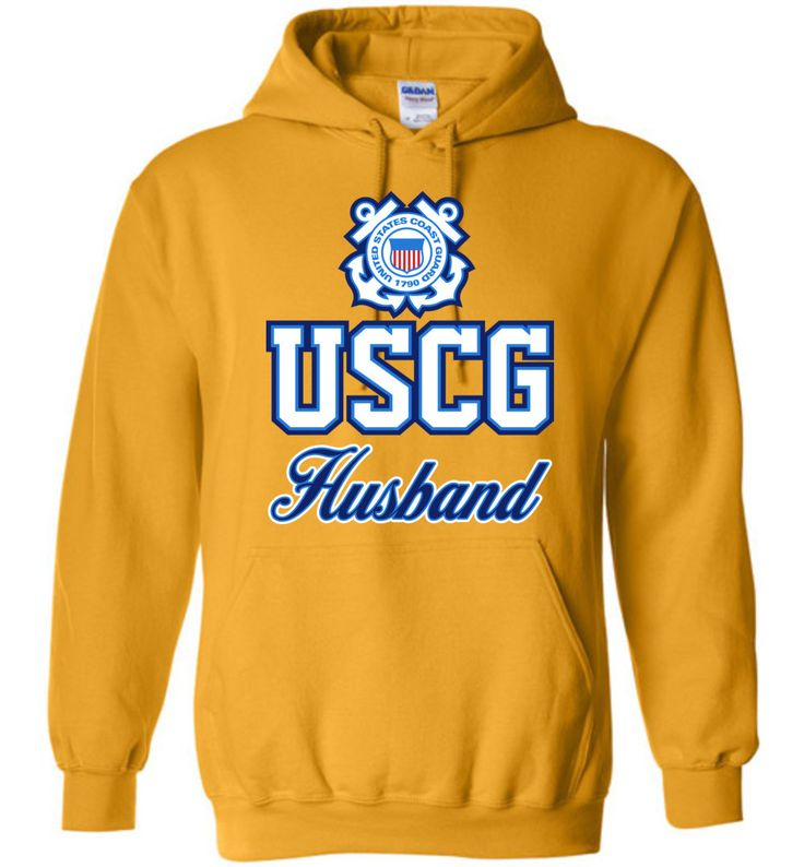 USCG Coast Guard Husband Hoodie