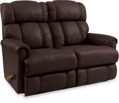 Best La Z Boy Pinnacle Leather Reclining Loveseat In 2020 400 x 300