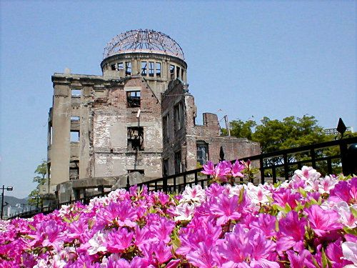 Hiroshima peace park in Japan. The peace park is at ground zero where the bomb was dropped. Going here changed my life. It was a profound, gut-wrenching, and eye opening experience. I don't think that anyone could leave this place the same as they were before.