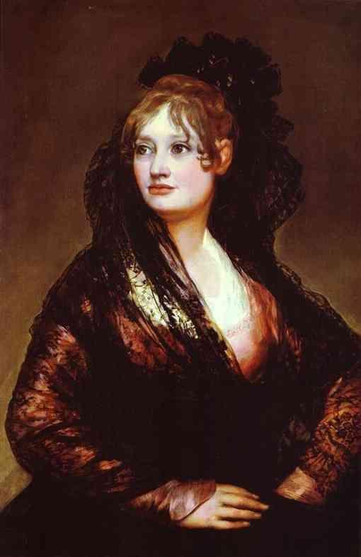 """Dona Isabel de Porcel"" Francisco Goya"
