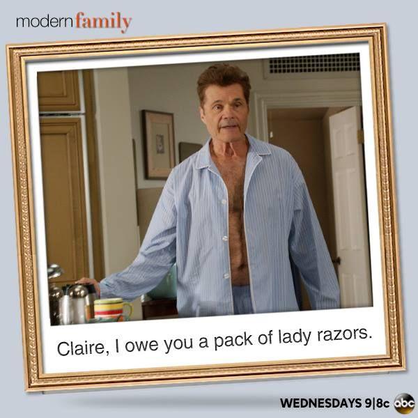 Lady Razors ~ Modern Family ~ Season 5 ~ Quotes