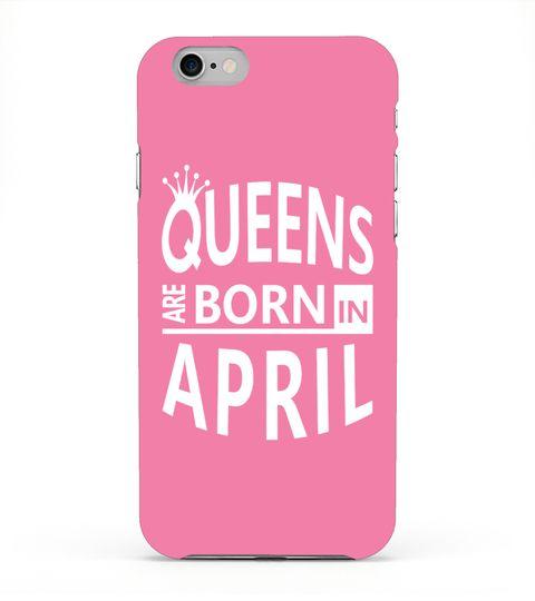 April Born Woman iPhone/Samsung Case