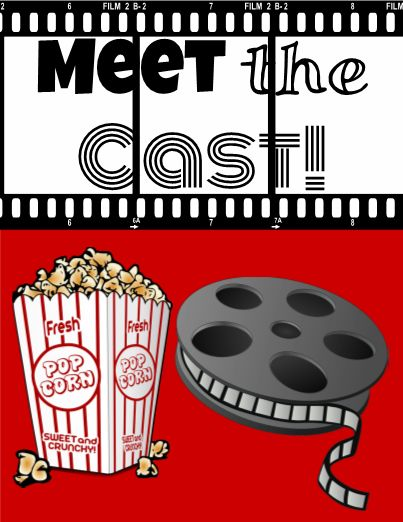 "Go Hollywood for Back to School this year! This Lights! Camera! Action! theme will be a hit with all of your ""viewers"". Add in the names of the ""Directors"", ""Crew"", ""Cast"" and students in the ""Spotlight""."
