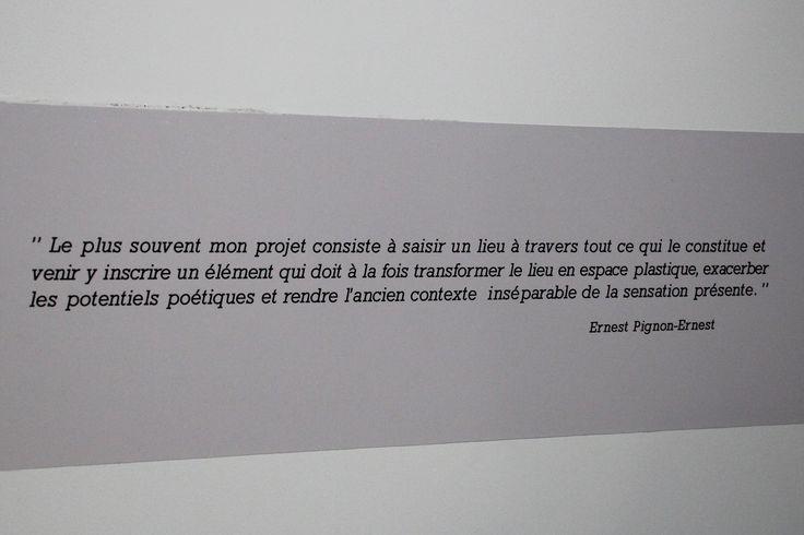 Citation d'Ernest Pignon-Ernest
