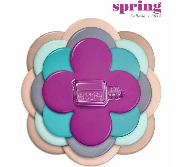 Essie Primavera 2015: fiori in punta di dita http://www.tentazioneunghie.it/essie-primavera-2015-fiori-in-punta-di-dita/ #newcollection #nails #nail #nailpolish #essie #ss15
