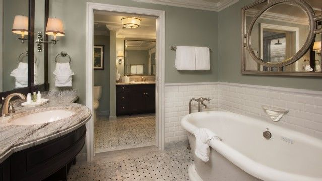 Bathroom At Villas At The Grand Floridian Resort Amp Spa