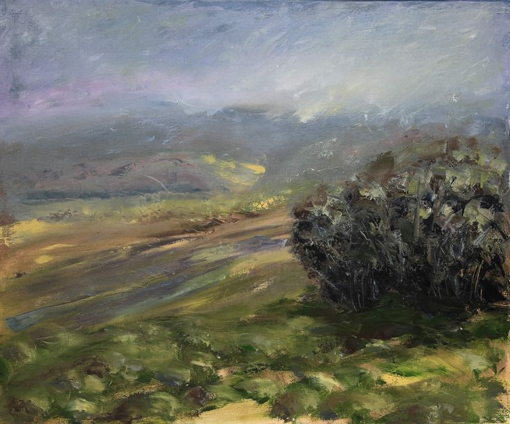 Cradle Valley by John Hodgman. 2014. Oil on linen. 76 x 91cm. $1800. (or $150 per month interest free with COLLECT).