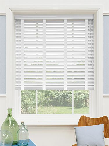 white wood window blinds - Google Search