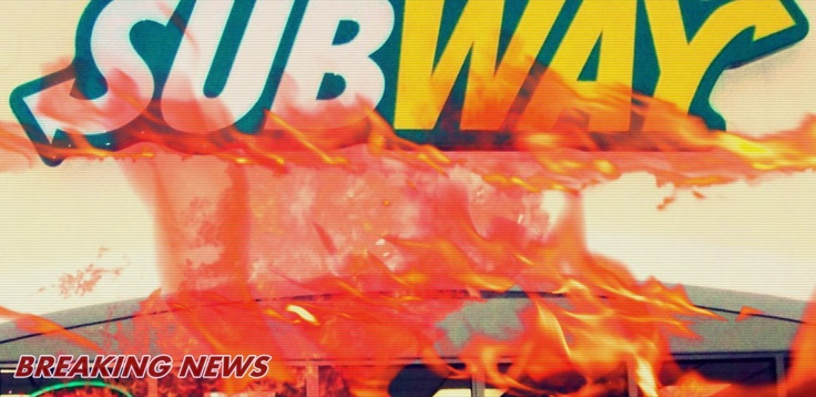 Riots Break Out Over Subway Meat Slicing