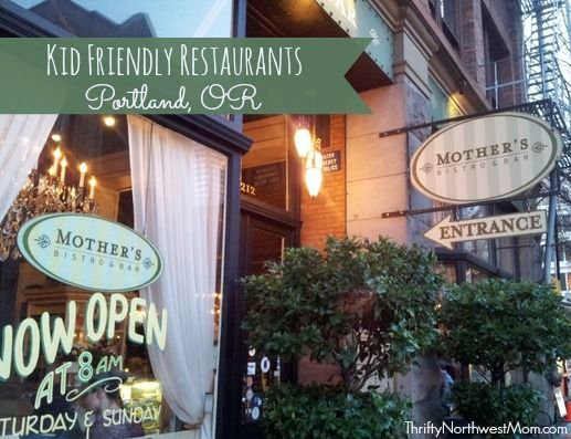 Favorite kid friendly restaurants in Portland - Zell's Cafe, Hopworks, Mother's Bistro & more