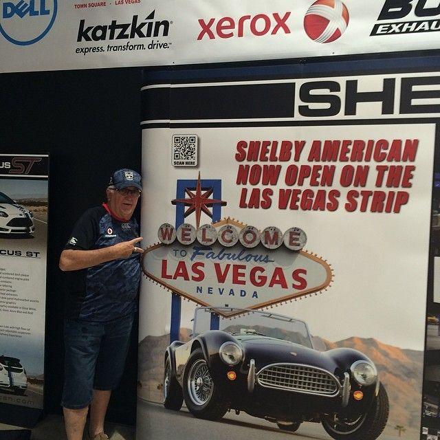 Sir Peter Leitch repping his club in #LasVegas