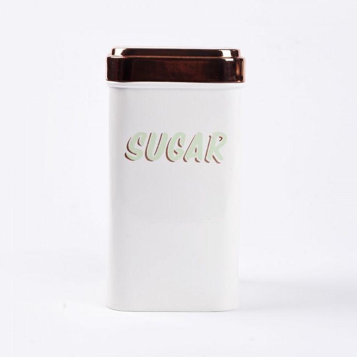 Tin Canister - Sugar