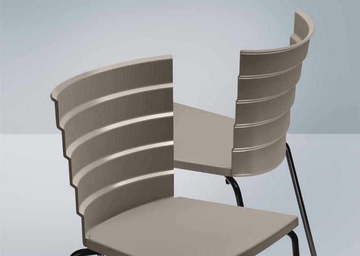 Bikini Dining Chair By Marc Sadler For Metalmobil