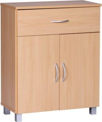 Wohnling WOHNLING Sideboard Buche 60 x 75 cm mit 2 Türen & 1 Schublade Jetzt bestellen unter: https://moebel.ladendirekt.de/wohnzimmer/schraenke/sideboards/?uid=e42b70c4-6cc5-5e05-b372-5c5ae1b1714e&utm_source=pinterest&utm_medium=pin&utm_campaign=boards #schraenke #wohnzimmer #sideboards