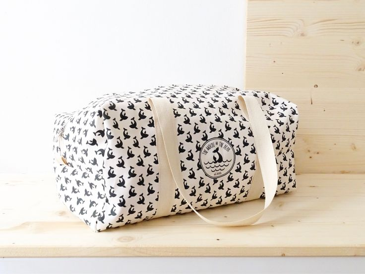 Whales duffle bag