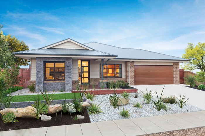 Facades single storey house plans home designs for Modern house designs nsw