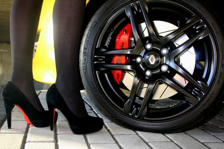 Always match your heels with your wheels!
