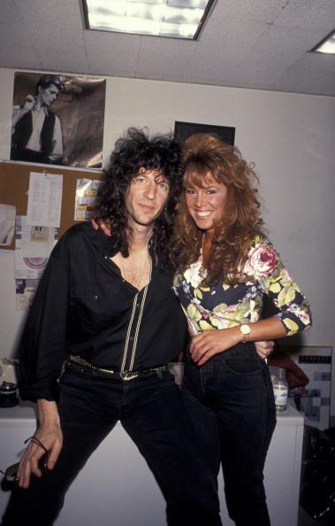 Howard Stern and Jessica Hahn