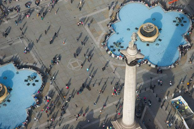 Nelson's Column, Trafalgar Square, London    Picture: Jason Hawkes