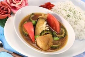 夏のお野菜スープカレー