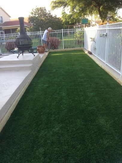 GREENLINE Jade 50 Artificial Synthetic Lawn Turf Grass for