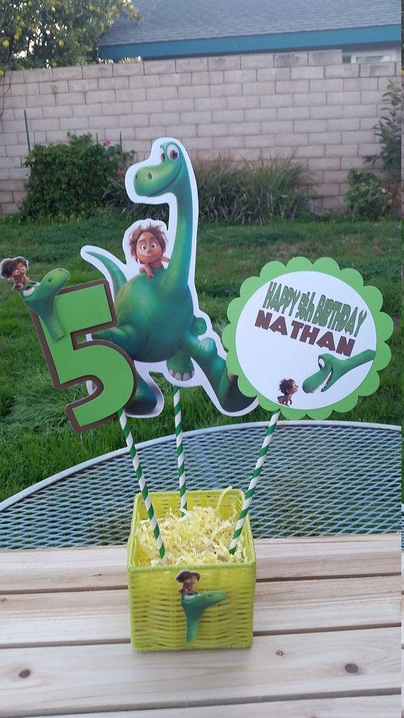 The good dinosaur centerpiecethe good by SilviasPartyDecor on Etsy