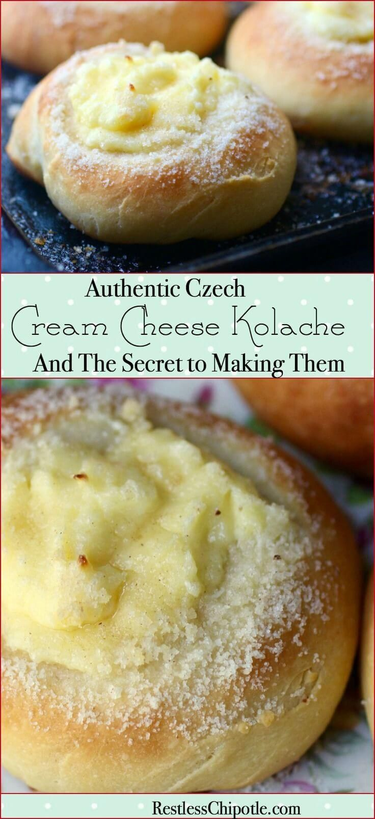 Easy & authentic! This cream cheese kolache recipe has the secret for perfect homemade kolaches every time. From RestlessChipotle.com via @Marye at Restless Chipotle