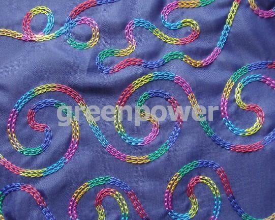 Machine Embroidery Chain Stitch  Embroidery  Pinterest