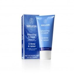 Weleda Shaving Cream:  formulated using a soft shaving soap and pure plant oils, producing a lasting, creamy lather to give the closest possible shave.