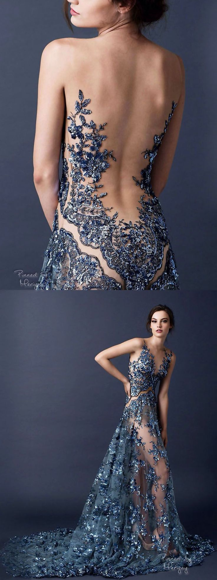 f2ceb9714675b7763835a3612b996b74.jpg 750×2,000 pixels How is she keeping that dress on?? Peek-a-boo