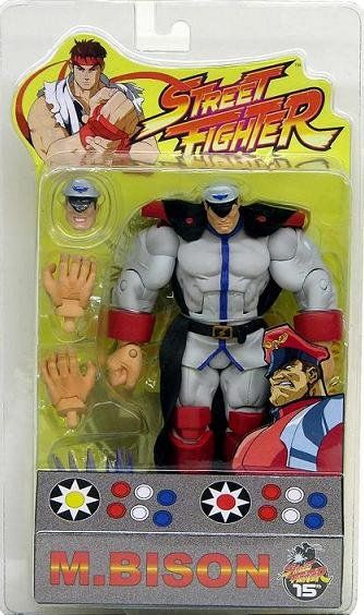 Street Fighter M. Bison [White Gray Variant] Sota Toys Round 1 SDCC 2004 || Marvel Legends v Capcom || In stock @DCCollectibles (click image to buy it now). Your order 2 or more items (order total $69 or higher), ships for FREE! Continental US only.
