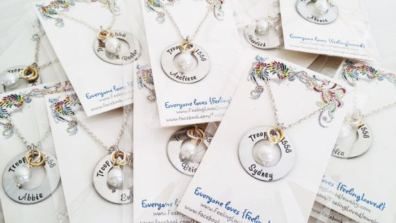 Scout Bridging Gifts  Scouts Bridging by FeelingLovedJewelry
