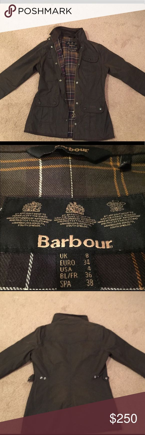 Barbour Waxed Cotton Utility Jacket 4US/8UK Worn only a handful of times. Relatively new, great condition! Barbour Jackets & Coats Utility Jackets