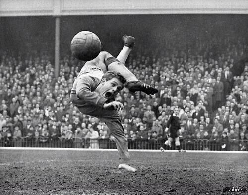 Лучшая британская спортивная фотография 1961 года   футбол, фотография, 1961