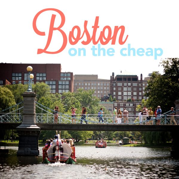 Thrifty Travel: Boston