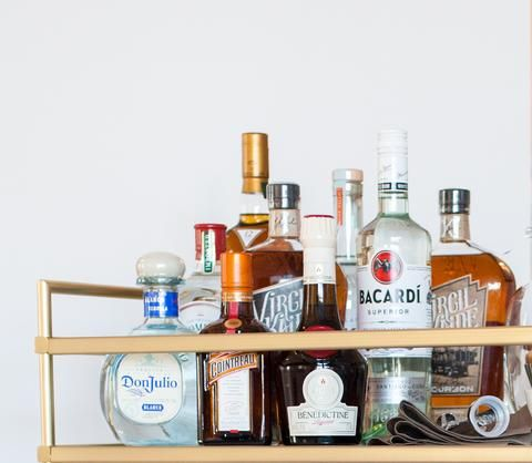 Make sure you have an arsenal of alcohol options at your disposal for the next time you need a nightcap (or, in some cases, a daycap). Here's how to stock your bar for a would-be blowout.