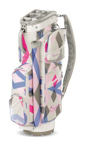 Nike Golf Womens Brassie Cart II Golf Bag (Swan) at http://suliaszone.com/nike-golf-womens-brassie-cart-ii-golf-bag-swan/