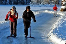 Did you know that Finns invented ice scating?